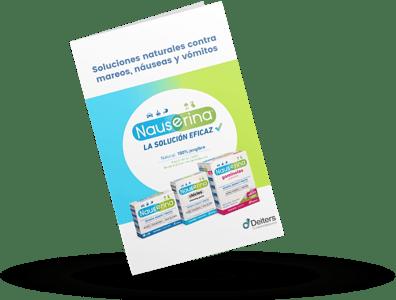 Mockup - Ebook - Soluciones naturales contra mareos, náuseas y vómitos